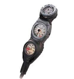 芬蘭松拓 (Suunto) CB-503 衡量 [殘餘壓力錶 SM 36 + 深度計 SM 16 + 附加指南針 SK-7] [黑色] 和 [FL2095] 主控台返回和交流不能 upup7