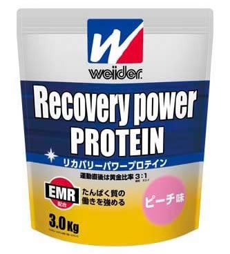 Weider リカバリーパワープロテイン peach 3.0 kg Huy fs3gm