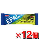EPA・DHAを1本あたり合計300mg配合ニッスイ エパプラスEPA+DHA大豆バー <抹茶あずき味>30g 【12個set】