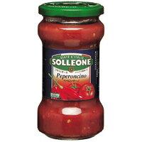 SOLLEONE ソル・レオーネトマトソース・ペペロンチーノ 300g (イタリアン パスタソース 調味料)