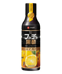 フッチョ black vinegar (yuzu vinegar) 500 mL fs3gm