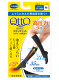High pressure power type [black /M size ]QttO  / foot care] that there is a  knee lower tiptoe in in Dr.Scholl house