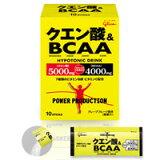 グリコ パワープロダクション クエン酸&BCAA 12.4gx10本 upup7