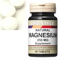 ライフスタイル マグネシウム タブレット サプリメント