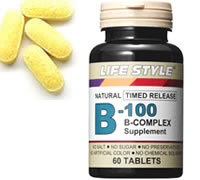 LIFE STYLE (lifestyle) vitamin b-100 complex 60 tablets (vitamin b-100 complex) on fs3gm