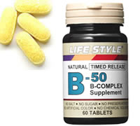 LIFE STYLE (lifestyle) vitamin b-50 complex 60 grain input (b-50 vitamins / complex)