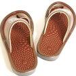 官足法 健康サンダル S,M,Lサイズ人気の鼻緒付きタイプのサンダルですメンズ、レディース兼用足裏に軽い履き心地足つぼをソフトに刺激キトサン(抗菌、防臭)加工