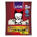 ◇ライオン ニオイをとる砂 7歳以上用 鉱物タイプ 5L