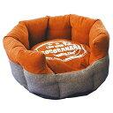 なごみ ラウンドカドラー CoCoBANANA(ココバナナ) M ブラウン 犬猫用ベッド