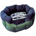 ★訳あり在庫処分特価 なごみ ラウンドカドラー CoCoBANANA(ココバナナ) M グリーン 犬猫用ベッド