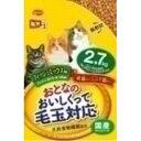 ◇日本ペットフード ミオおとなのおいしくって毛玉対応 フィッシュミックス味 2.7kg