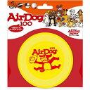 ◇スーパーキャット AirDog(エアドック) 100 イエロー(犬用フリスビー)