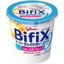 グリコ BifiXヨーグルト ほんのり甘い脂肪ゼロ 375g 6個
