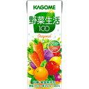 カゴメ 野菜生活100 オリジナル200ml 24本 【野菜ジュース】