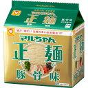 東洋水産 マルちゃん正麺豚骨味91g5食入り