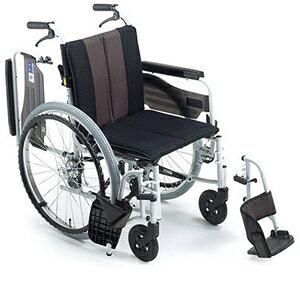 車椅子 車いす 自走式車椅子 ミキ MPWSW-43JDF_HG 【アルミ製車椅子】 【プレゼント 贈り物 ギフト】【介護】