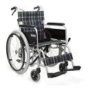 車椅子 車いす 自走式車椅子 カワムラサイクル KA202SB-40・42 アルミ製車いす 【アルミ製