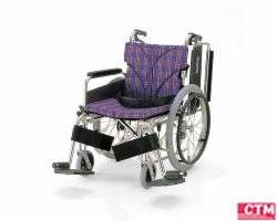 車椅子 車いす 自走式車椅子 カワムラサイクル KA820-38・40・42B-SL アルミ製車いす 【アルミ製車椅子】
