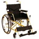 車椅子(車いす) チタンフレーム車いす 自走兼介助用 【カワムラサイクル】 【KTL22-40】