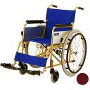 車椅子(車いす) チタンフレーム車いす 自走兼介助用 【カワムラサイクル】 【KT22-40MRI