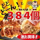 【送料無料】国産ジューシー餃子 384個入(餃子 業務用