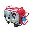 【スーパー工業】 エンジン式高圧洗浄機 防音型 ラインストレーナ付 [SEV-2110SSR]