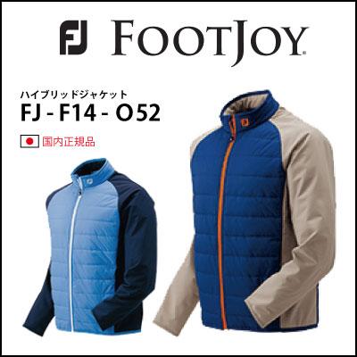 【クリアランスセール】フットジョイ ゴルフ ウェア     【FOOTJOY】ハイブリッドジャケット FJ-F14-O52 ゴルフウェア メンズ 冬 秋 2014年秋冬モデル FOOTJOY