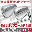 【ピン公認フィッター対応 ポイント10倍】PING ピン ゴルフ GLIDE 2.0グライド 2.0 ウェッジ ダイナミックゴールド AMT DG AMT※左用 レフティー【日本仕様】ping ウェッジ スピン