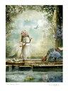 美術, 美術品, 古董, 民間工藝品 - 天使 妖精 絵画 スプリングフェアリー「春のフェアリー」 フォトアート 妖精 の写真家 天使 フェアリー エンジェル アート ヴィクトリア Charlotte Bird シャーロットバード フォトグラフ イギリス 英国