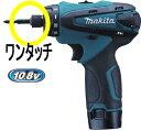 マキタ電動工具 10.8V充電式ドライバードリル DF030DWSP