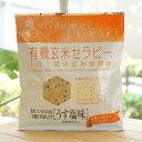 有機玄米セラピー(うす塩味)/30g【アリモト】