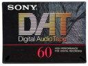 【メール便可】SONY(ソニー)DAT(デジタルオーディオテープ)カセット 60分 単品 DT-60RA