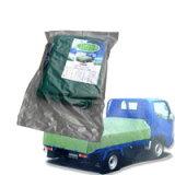 訳あり ワケあり わけあり エステル帆布トラックシート 2号・2.1m×2.7m 激安特価 帆布地だから強度は抜群。耐候性に優れ、長期の使用が可能