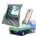 エステル帆布トラックシート 3号・2.3m×3.6m トラックロープ9mm×20mセット 激安特価 帆布地だから強度は抜群。耐候性に優れ、長期の使用が可能