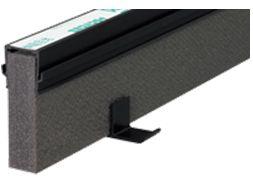 エキスパンタイ ブラック TJ-20×100(旧TK-20×100) キャップ幅 20mmx高さ100mm 1.5m 1本 成形伸縮目地 土間コンクリート目地 タイセイ 激安特価