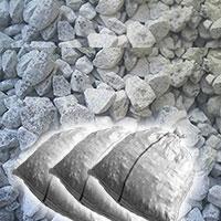 石灰石(砕石)砂利 20kg×5袋セット 防犯 防草に 送料無料...:kenzai-yamashita:10002962