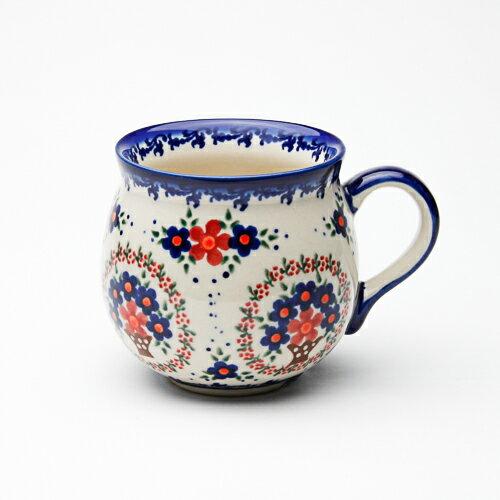 ポーリッシュマグ・大[V352-A063]【ポーリッシュポタリー[ポーランド食器・陶器]】