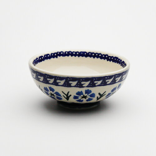 ご飯茶碗・小[W128-29]【ポーリッシュポタリー[ポーランド食器・陶器]】