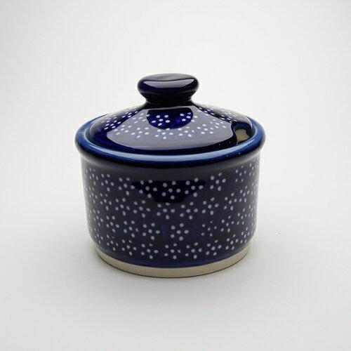 シュガーポット[Z698-226A]ポーリッシュポタリー[ポーランド食器・陶器]