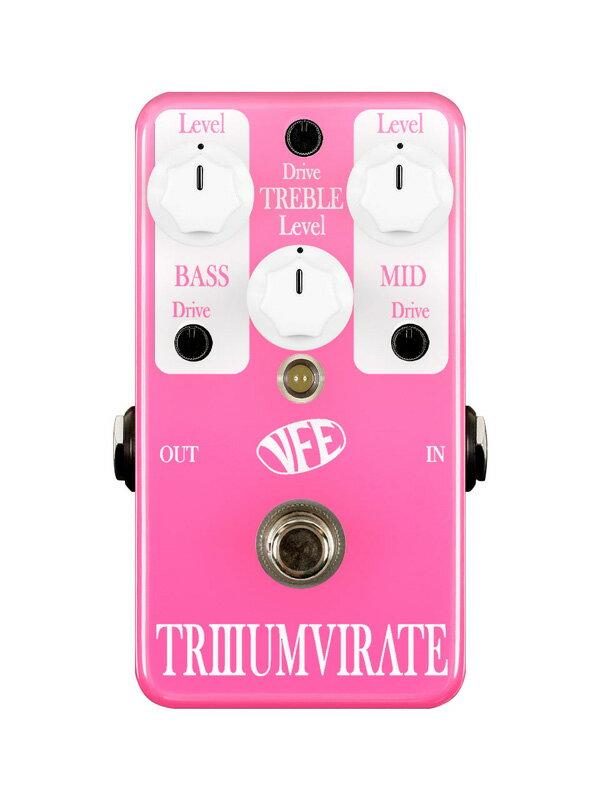 【お買い物マラソン開催中 ポイント10倍 6/1 1:59まで】VFE pedals Triumvirate【送料無料】【10P27May16】【格安SALEスタート】