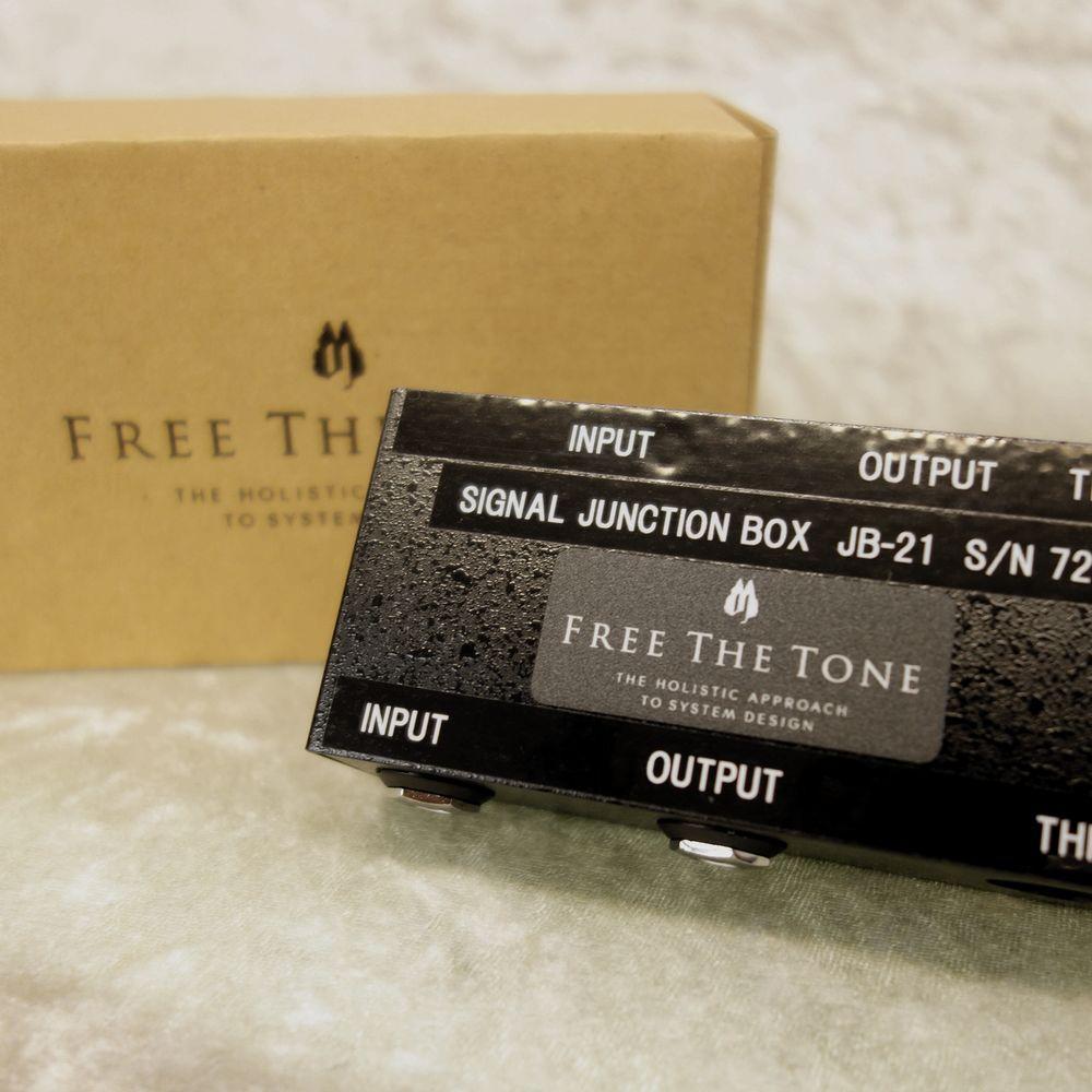 【即納可能 ポイント10倍】Free The Tone フリーザトーン JB-21 Signal Junction Box【0824楽天カード分割】