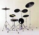 KEYオリジナルのドラム練習台です。 思いっきり、でも静かに練習しましょう!KEY Original PAD-3X【 初心者にオススメ トレーニングドラムセット】【送料無料】