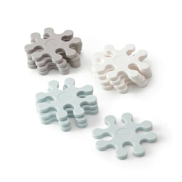 KEYUCA(ケユカ)Petaloマルチコースター[コースターシリコン鍋敷き組み合わせパズル型キッチ