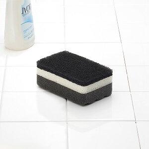 スポンジ ブラック キッチン 食器洗い おしゃれ オシャレ シンプル デザイン