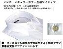 LORVEL LORLAR メンズ 長袖 シャツ レギュラー カラー 白シャツ カッターシャツ ビジネス 冠婚葬祭 リクルート