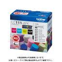 ブラザー インクカートリッジ LC111-4PK LC111-4PK