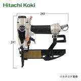 【スマートフォンからエントリーで倍】日立工機 HITACHI フロア用タッカ N3804MF