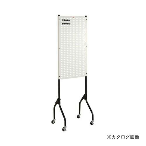 個別送料1000円 直送品 TRUSCO ライトパンチングパネル パネリーナ キャスター付 TUR-1C