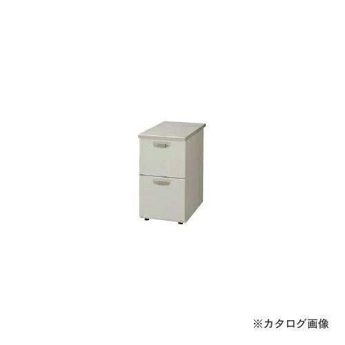 運賃見積り 直送品 ナイキ 脇デスク 2段 NED047A-AWH