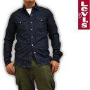 リーバイス Levi's デニムシャツ ウエスタンシャツ ワンウォッシュ 66986-0020 RED TAB メンズ